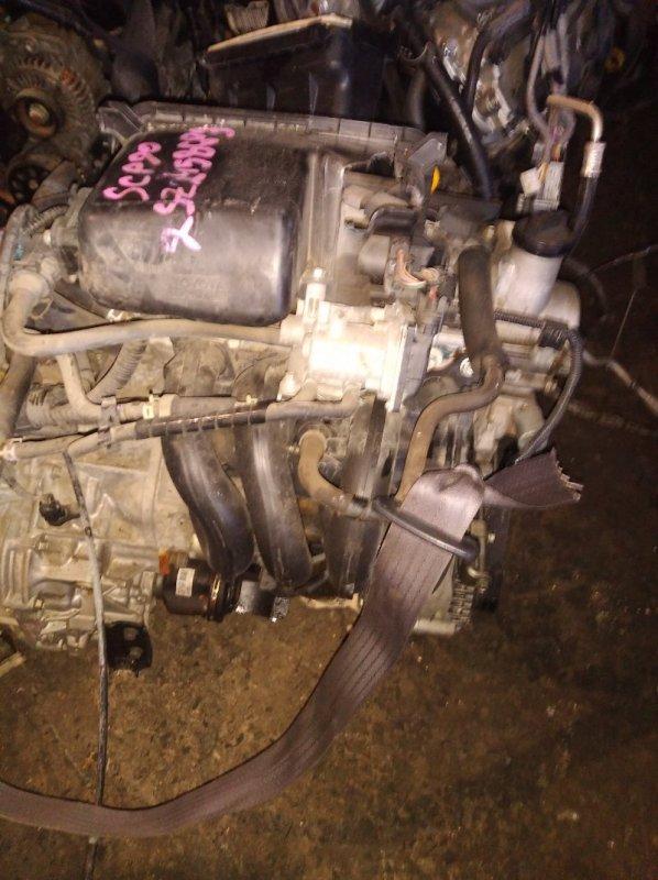 Двигатель Toyota Vitz SCP90 2SZFE 2007 (б/у)
