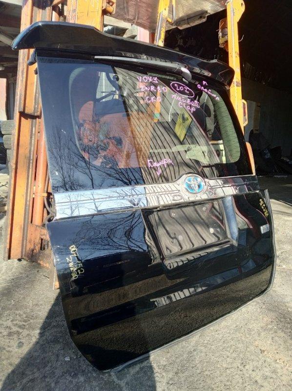 Дверь 5-я Toyota Voxy ZWR80 задняя (б/у)
