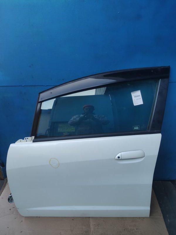 Дверь Honda Fit GE6 передняя левая (б/у)