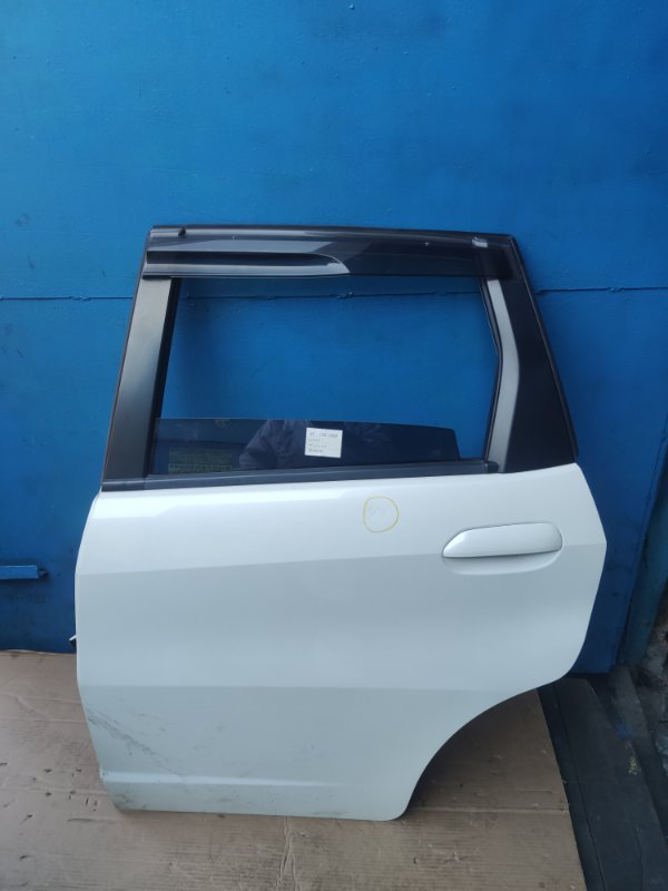 Дверь Honda Fit GE6 задняя левая (б/у)