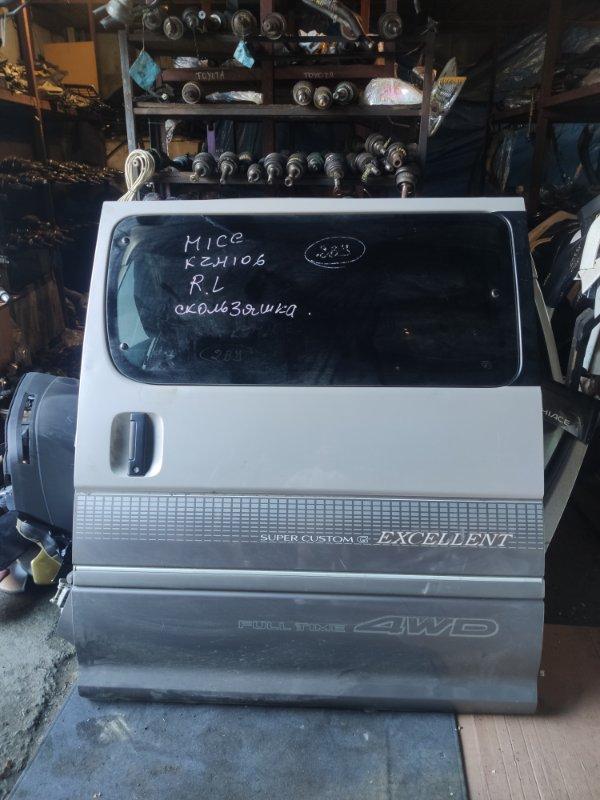 Дверь Toyota Hiace KZH106 задняя левая (б/у)