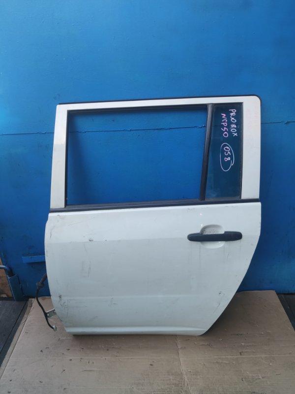 Дверь Toyota Probox NCP50 задняя левая (б/у)