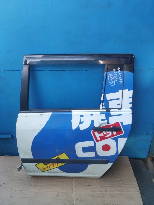 Дверь Toyota Succeed NCP55 задняя левая (б/у)