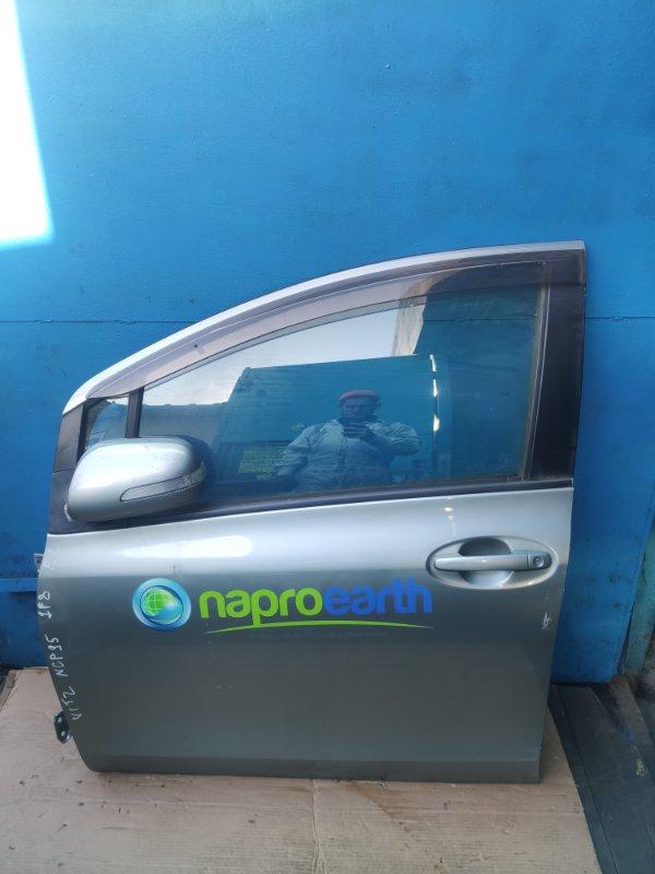 Дверь Toyota Vitz NCP95 передняя левая (б/у)