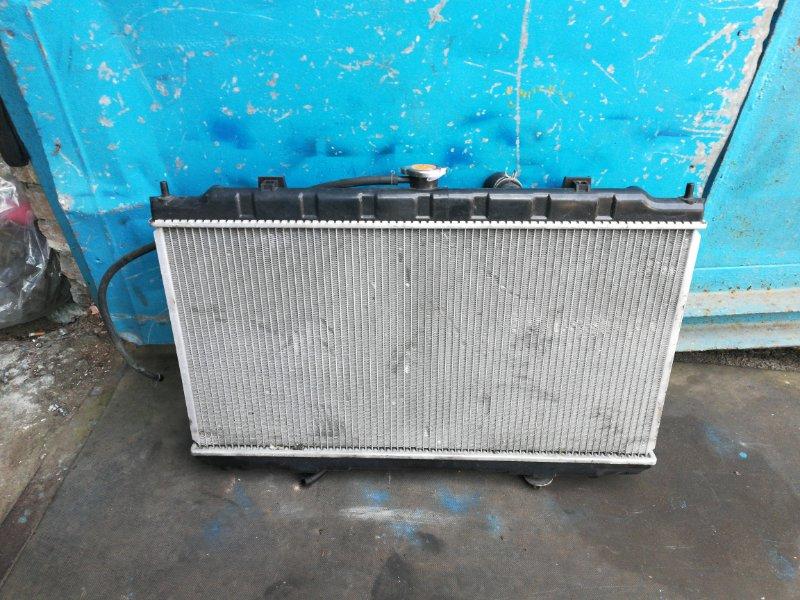 Радиатор охлаждения Nissan Wingroad Y11 QG18 (б/у)