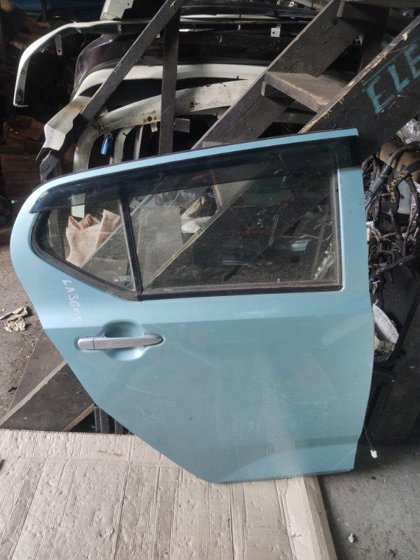 Дверь Daihatsu Mira LA360S задняя правая (б/у)