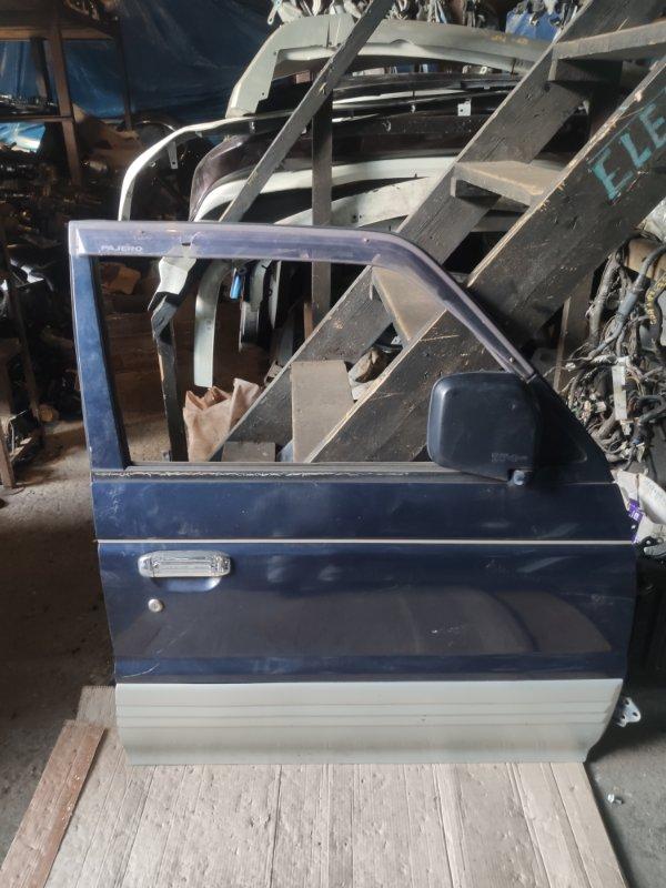 Дверь Mitsubishi Pajero V26W передняя правая (б/у)