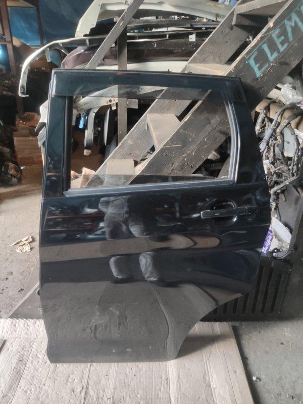 Дверь Mitsubishi Ek Wagon B11W задняя левая (б/у)