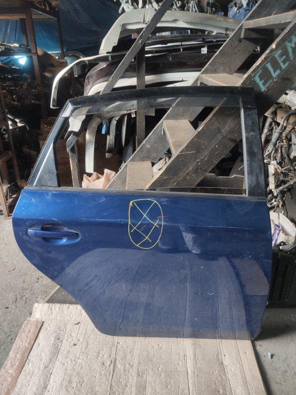 Дверь Toyota Prius Alpha ZVW41 задняя правая (б/у)