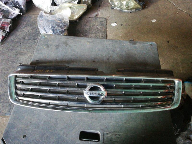 Решетка радиатора Nissan Stagea M35 (б/у)