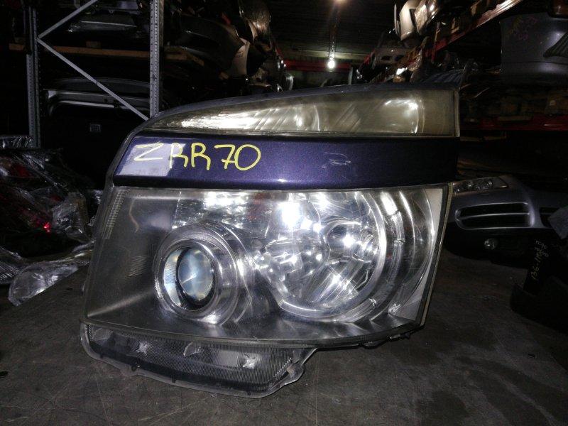Фара Toyota Voxy ZRR70 передняя левая (б/у)