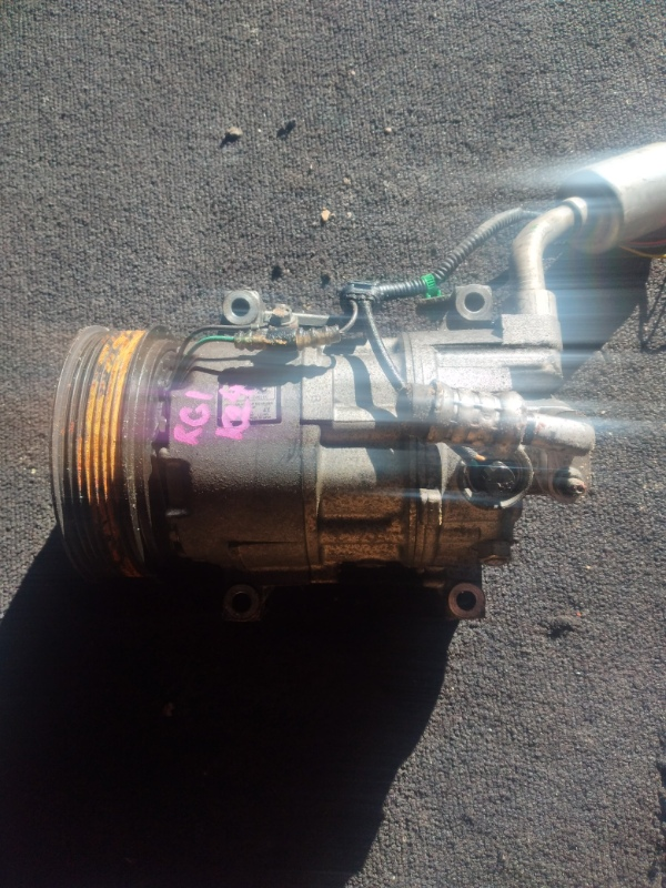 Компрессор кондиционера Honda Stepwagon RG1 K24A (б/у)