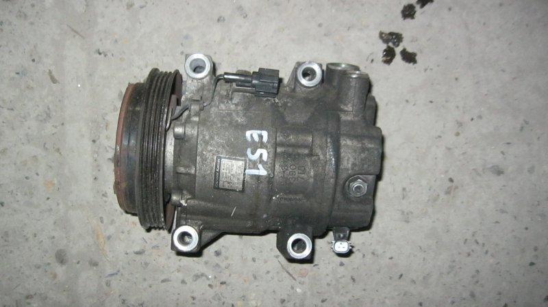 Компрессор кондиционера Nissan Elgrand E51 NE51 VQ35DE (б/у)