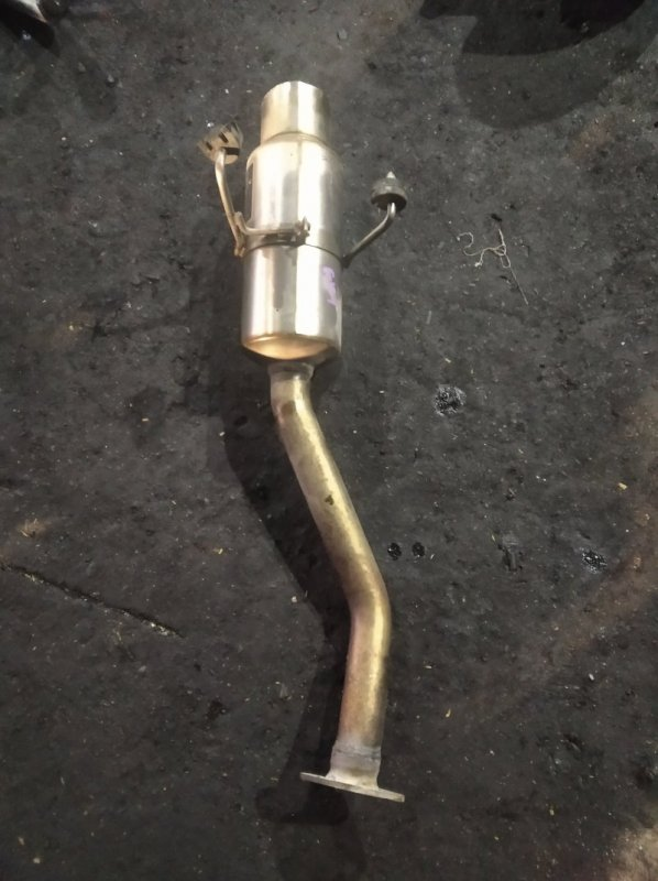 Бочка глушителя Honda Fit GD1 (б/у)