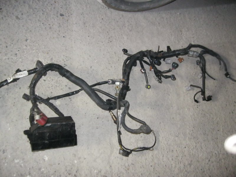 Проводка двс Toyota Passo KGC10 1KRFE (б/у)