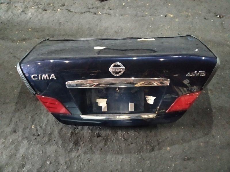 Крышка багажника Nissan Cima GF50 (б/у)