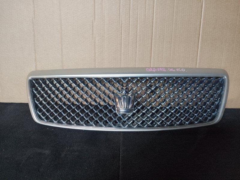 Решетка радиатора Toyota Crown GRS182 (б/у)