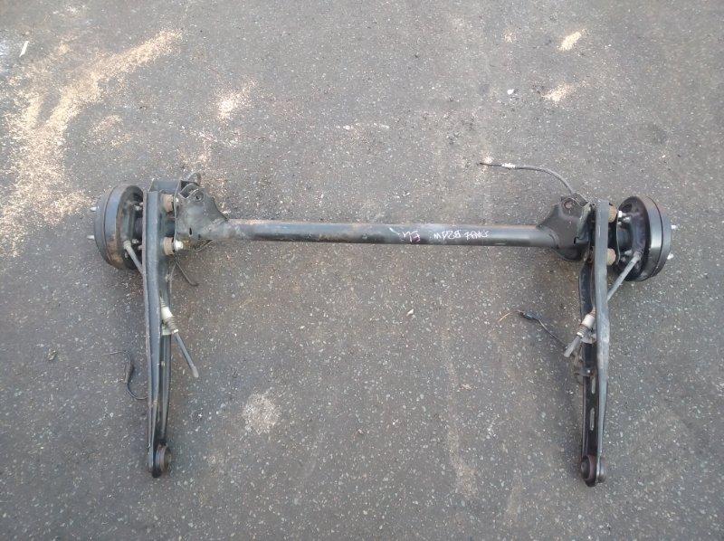 Балка со ступицами Nissan Dayz B21W 3B20 задняя (б/у)