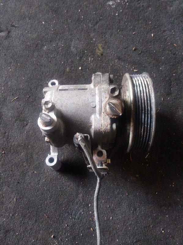 Компрессор кондиционера Suzuki Alto HA35S R06A (б/у)