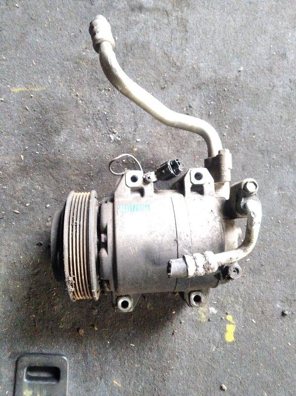 Компрессор кондиционера Nissan Presage TNU31 QR25 (б/у)
