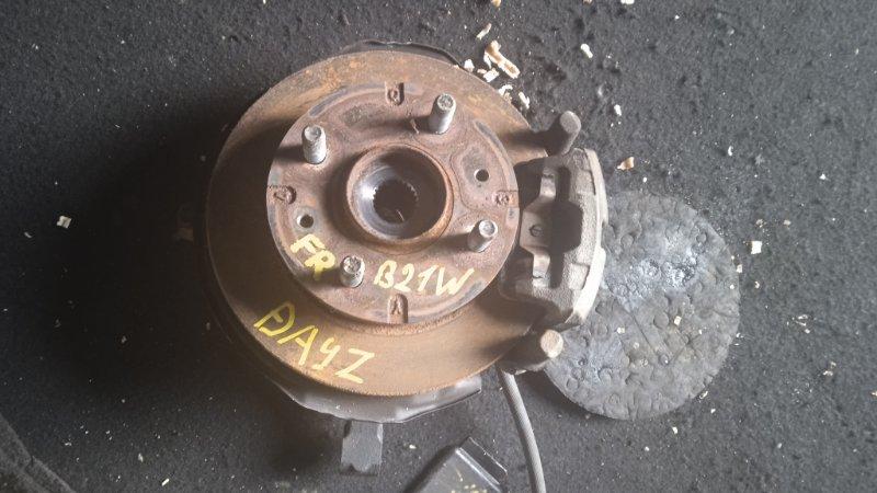 Ступица Nissan Dayz B21W 3B20 передняя правая (б/у)