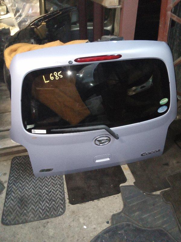 Дверь 5-я Daihatsu Mira Cocoa L675S задняя (б/у)