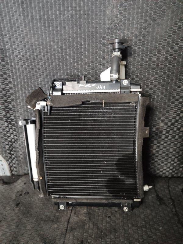 Радиатор охлаждения Honda N-Wgn JH1 S07A (б/у)