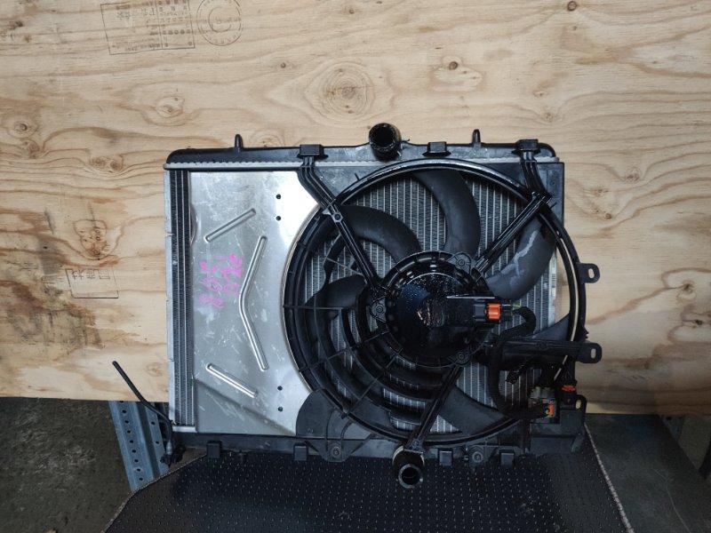 Радиатор охлаждения Peugeot 208 (б/у)