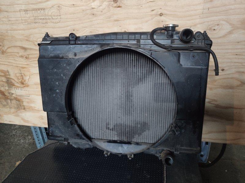 Радиатор охлаждения Nissan Datsun RD22 KA20 (б/у)