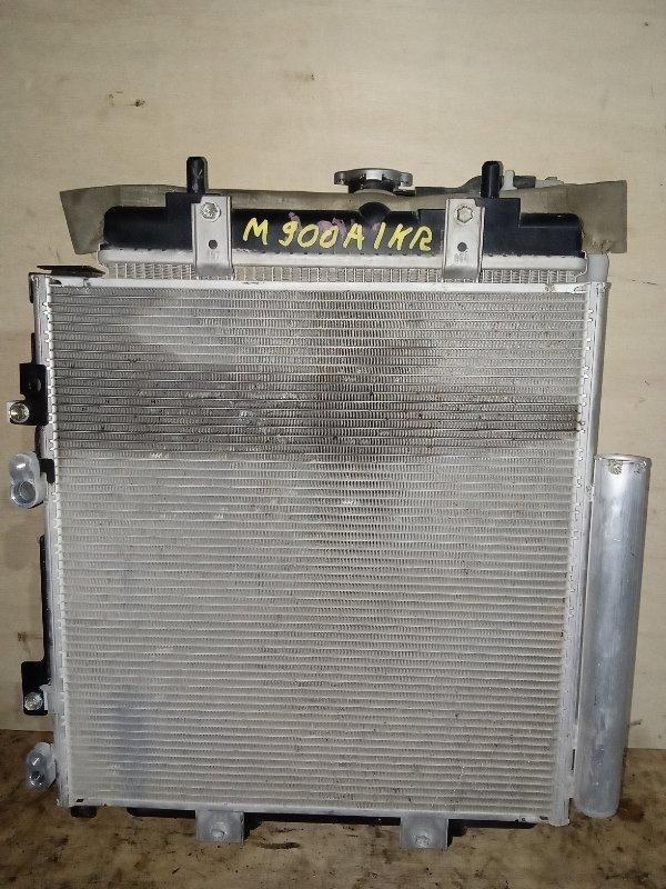 Радиатор охлаждения Toyota Roomy M900A 1KRFE (б/у)