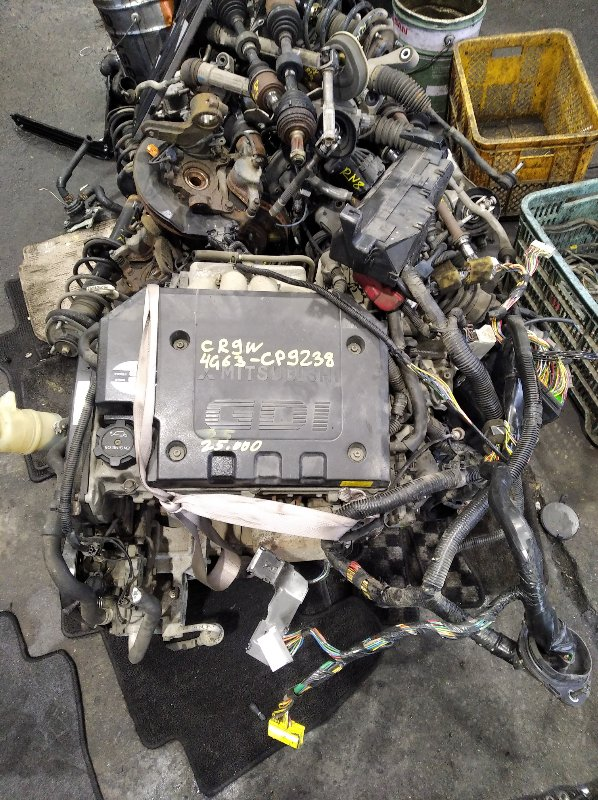 Двигатель Mitsubishi Dion CR9W 4G63 (б/у)