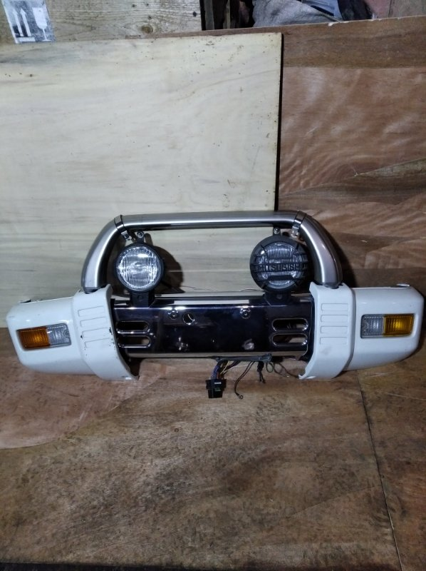Бампер Mitsubishi Pajero Mini H56A передний (б/у)