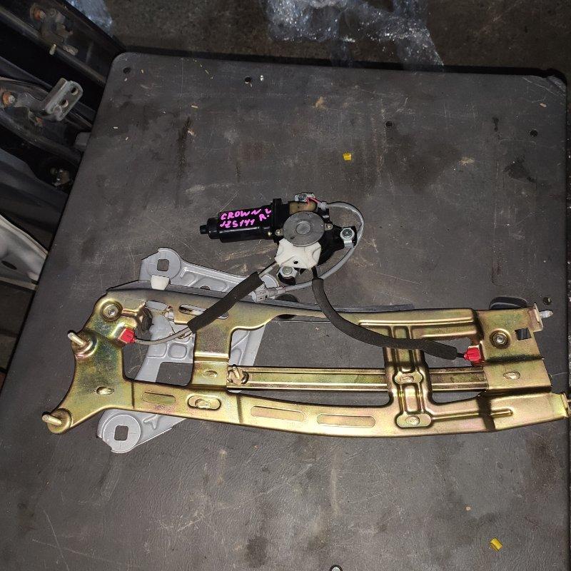 Стеклоподъемный механизм Toyota Crown JZS141 1JZ задний левый (б/у)