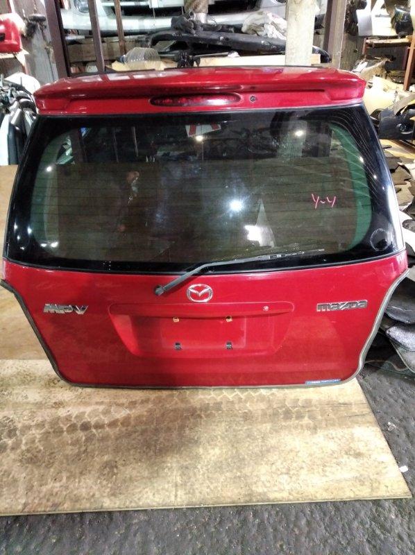 Дверь 5-я Mazda Mpv LW3W задняя (б/у)