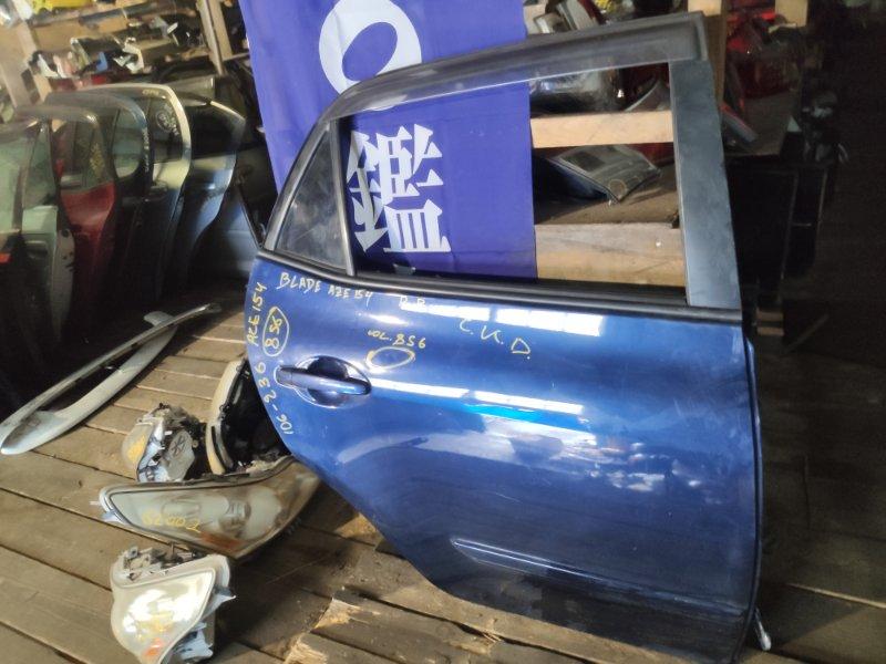 Дверь Toyota Blade AZE154 задняя правая (б/у)
