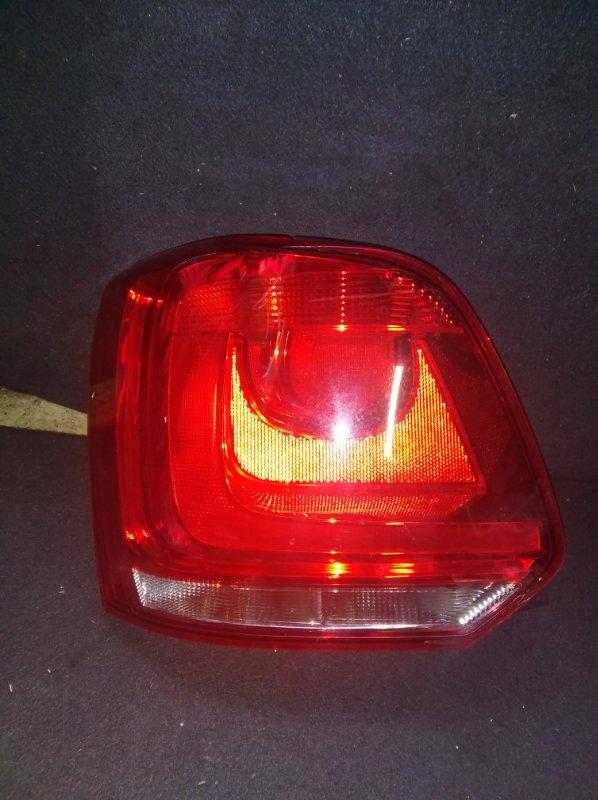 Стоп-сигнал Volkswagen Polo WVWZZZ6RZAU001373 задний левый (б/у)