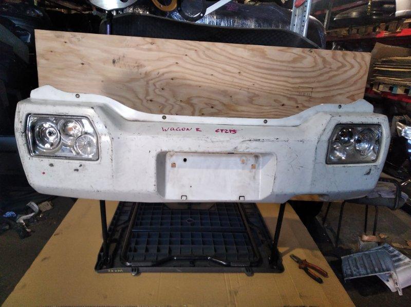 Бампер Suzuki Wagon R CT21S задний (б/у)