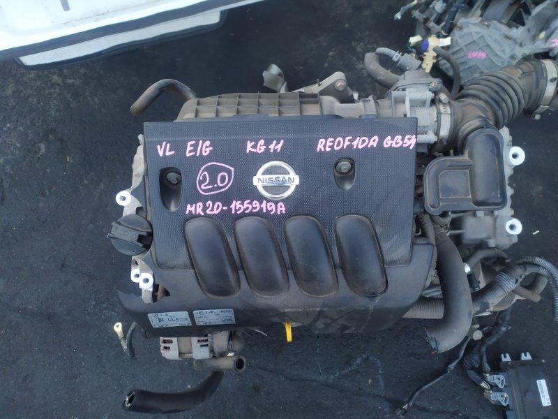 Двигатель Nissan Bluebird Sylphy KG11 MR20DE (б/у)