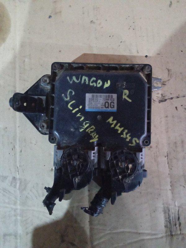 Блок efi Suzuki Wagon R MH34S R06A (б/у)