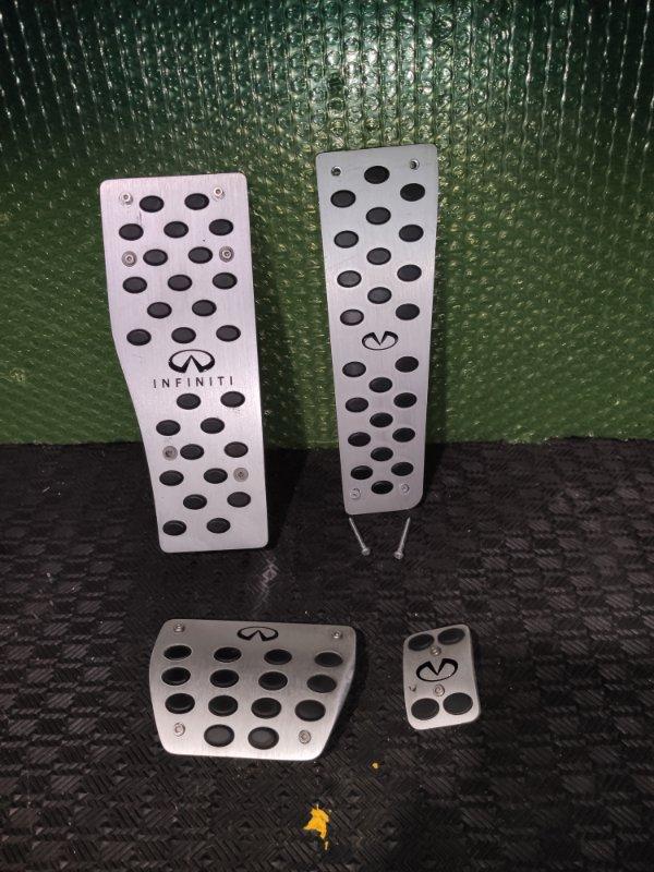 Накладки на педали Infiniti G25 (б/у)