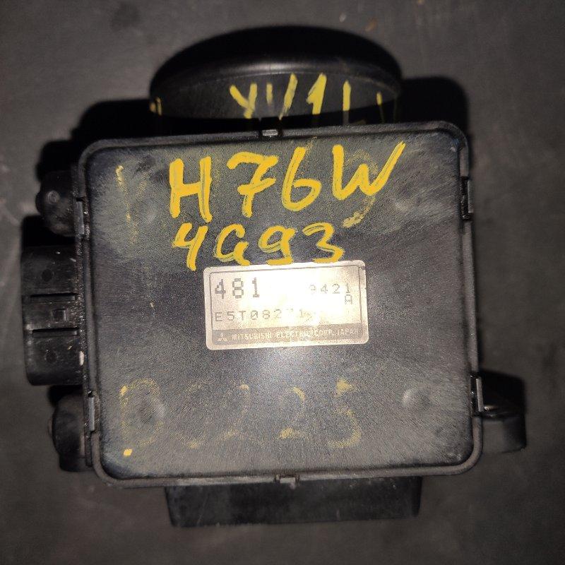 Датчик расхода воздуха Mitsubishi Pajero Io H76W 4G93 (б/у)