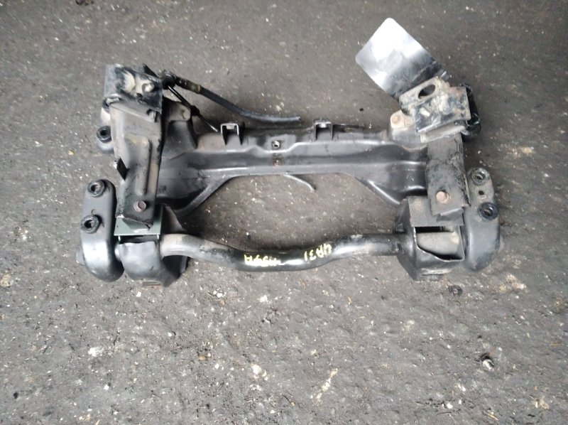 Балка под двс Mitsubishi Pajero Junior H57A 4A31 (б/у)