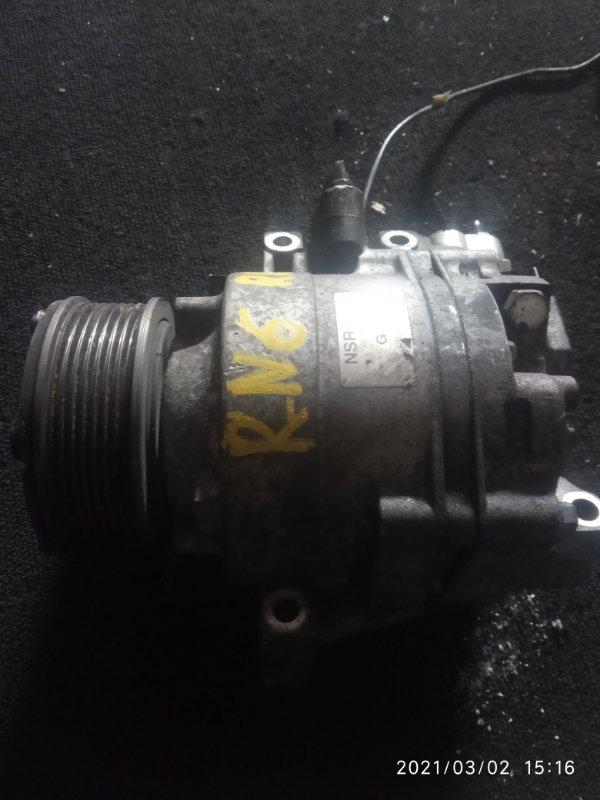 Компрессор кондиционера Honda Stream RN6 R18A (б/у)