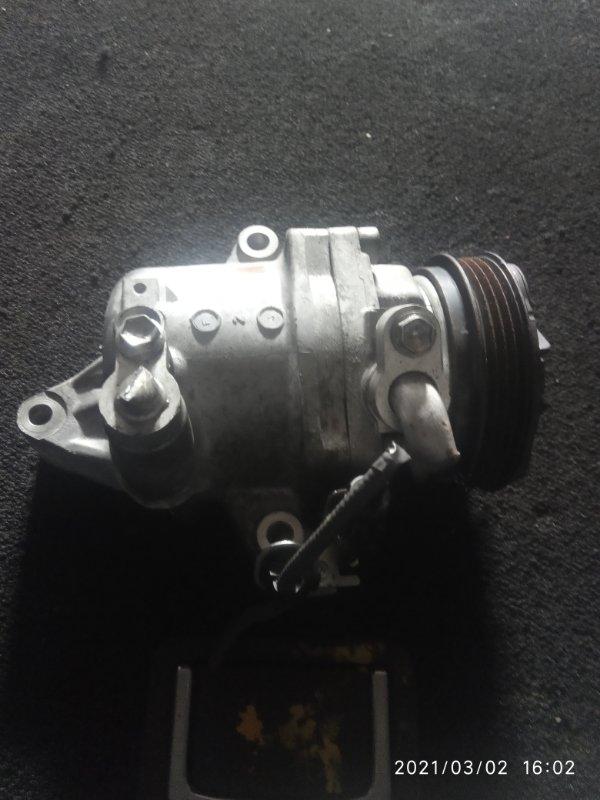 Компрессор кондиционера Suzuki Spacia MK42S R06A (б/у)