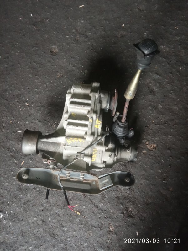 Раздатка Mitsubishi Pajero Junior H57A 4A31 (б/у)