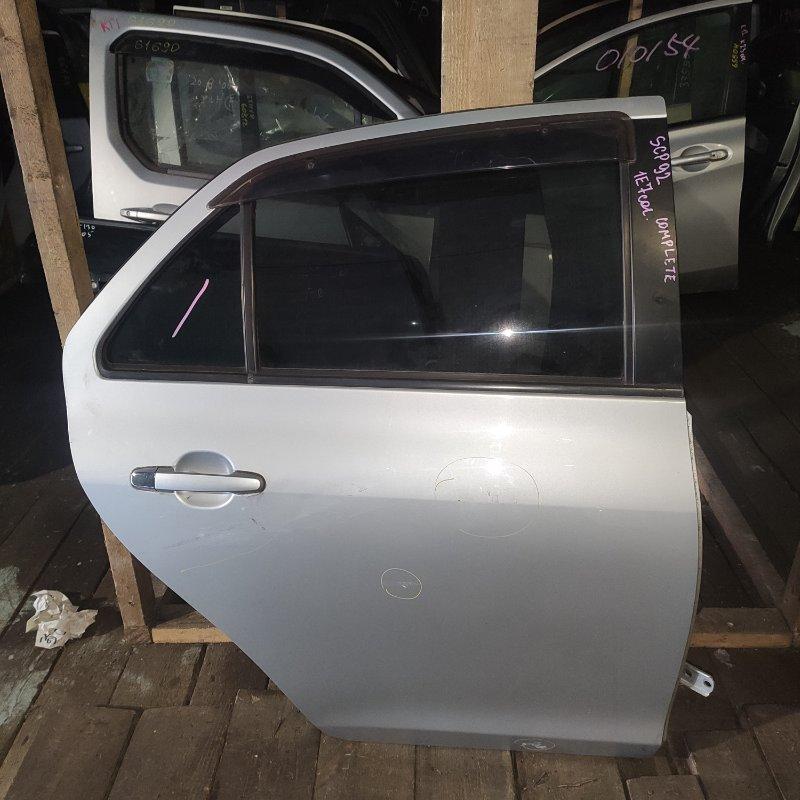 Дверь Toyota Belta SCP92 2SZ задняя правая (б/у)