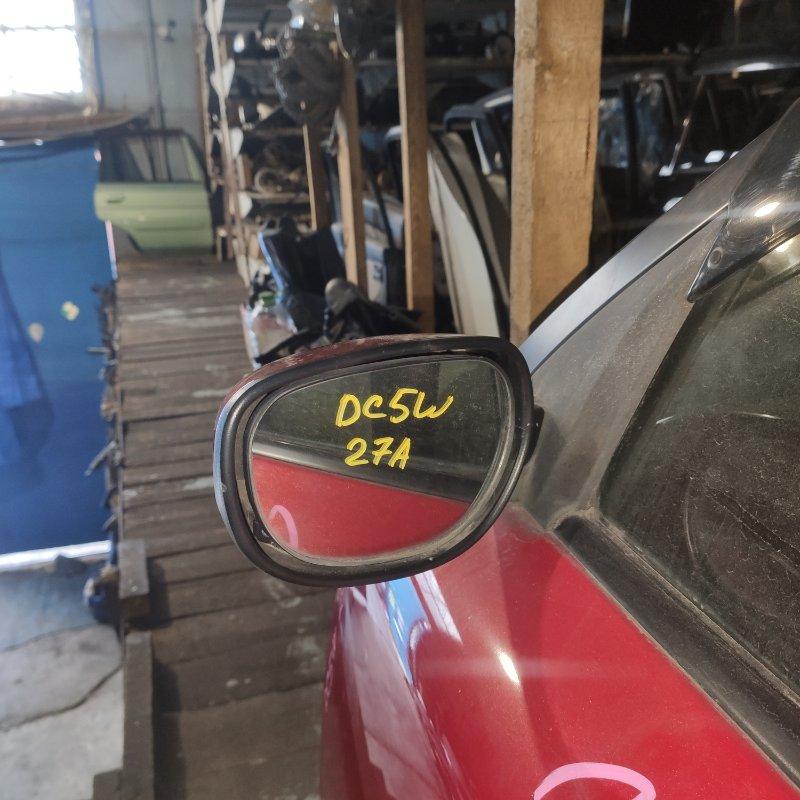 Зеркало Mazda Verisa DC5W переднее левое (б/у)
