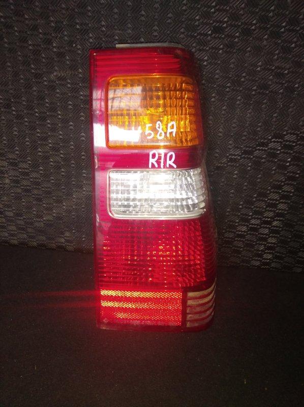 Стоп-сигнал Mitsubishi Pajero Mini H58A правый (б/у)
