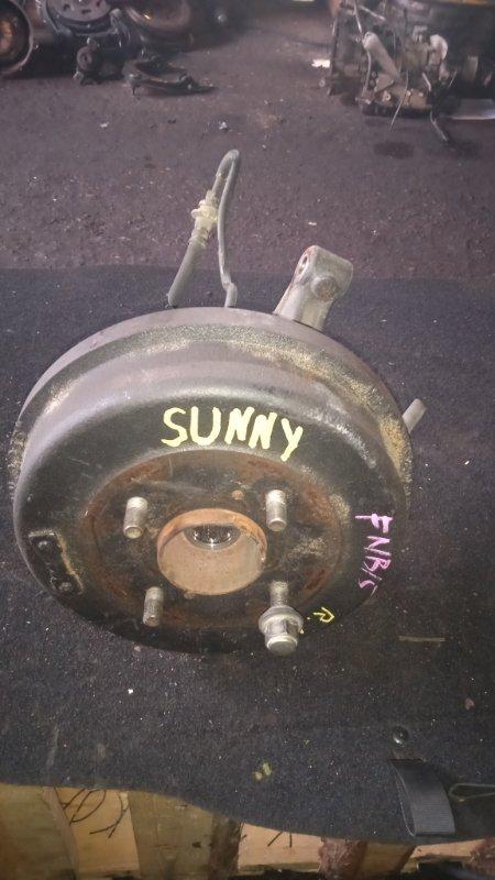 Ступица Nissan Sunny FNB15 задняя левая (б/у)