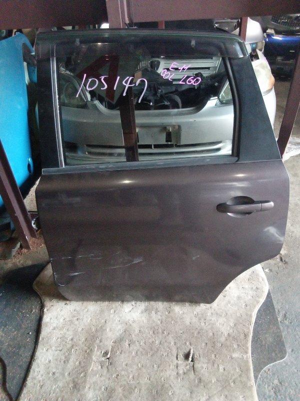 Дверь Nissan Note E11 задняя левая (б/у)